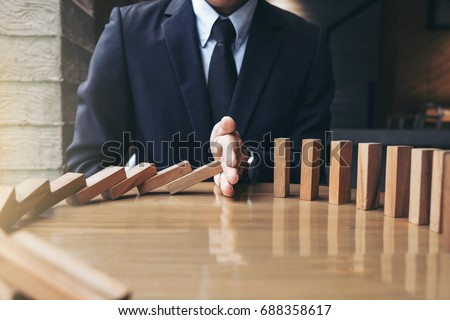 Risk and strategy in business, Close up of businessman hand gamb Stock photo © Freedomz