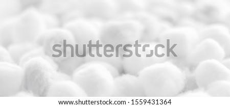 Organikus pamut golyók reggel fürdő branding Stock fotó © Anneleven