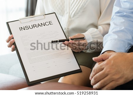 Corretor agente cliente caneta discutir Foto stock © snowing