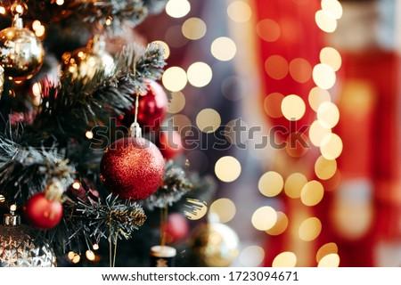 Navidad vacaciones amarillo vintage vacaciones Foto stock © Anneleven