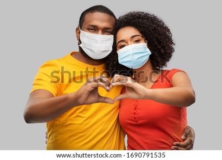 Viral epidemia pessoas médico máscaras Foto stock © robuart