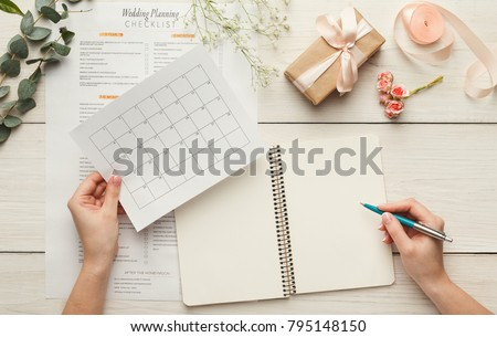 prepare the to do list for the day concepts of planning ahead stock photo © johnkwan