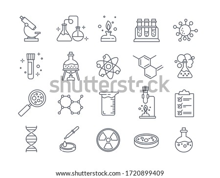 Chemical experiment Stock photo © icefront