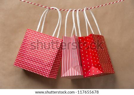 Vermelho dom pacote enforcamento fita Foto stock © HASLOO
