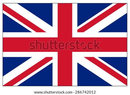 Flag of the United Kingdom Stock photo © creisinger