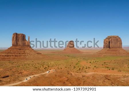 Beroemd schilderachtig vallei toeristische mooie zandsteen Stockfoto © meinzahn