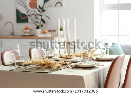Table serving in a rural house  Stock photo © Nejron