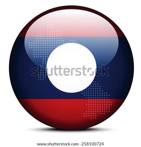 Térkép pont minta zászló gomb demokratikus Stock fotó © Istanbul2009