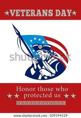 nap · üdvözlőlap · amerikai · katona · tart · puska - stock fotó © patrimonio