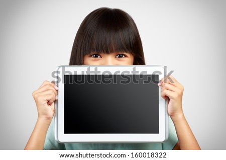 portret · glimlachend · jonge · student · potlood - stockfoto © deandrobot