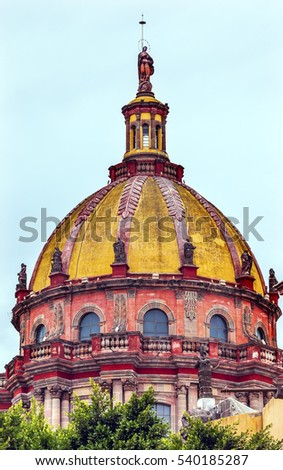 Stock photo: Convent Immaculate Conception The Nuns Basilica San Miguel de Al