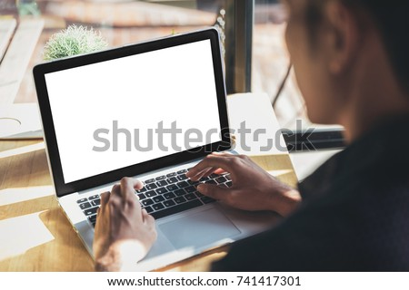 Computer screen in business concept stock photo © Elnur
