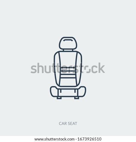 Car Repair Service - modern vector single thin line icons set Stock photo © Decorwithme