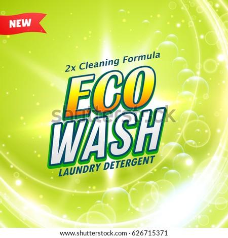 Detergente limpeza produto acondicionamento modelo de design projeto Foto stock © SArts