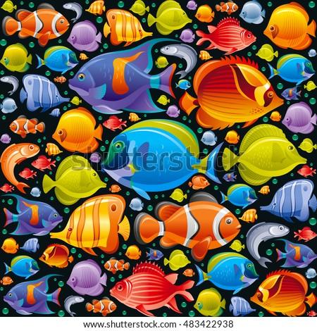 tengeri · végtelenített · egzotikus · hal · víz · tenger - stock fotó © lucia_fox