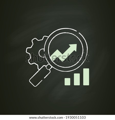 Effective Strategies through Magnifier. Doodle Design. Stock photo © tashatuvango