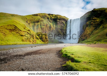 風景 · 川 · 峡谷 · 美しい · 山 - ストックフォト © leonidtit