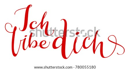 Tradução linguagem amor caligrafia texto Foto stock © orensila