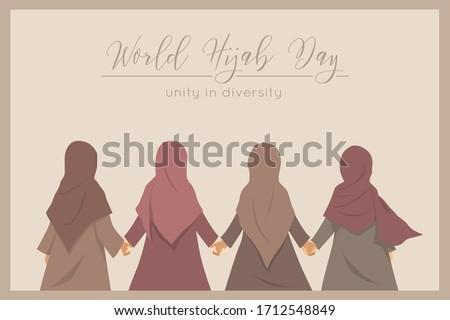 vector   arab niqab style beautiful arabic muslim woman   illu stock photo © nikodzhi