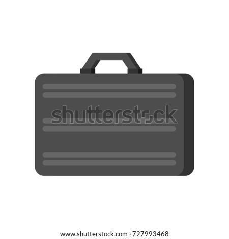 Metálico mala prata pasta caso fechado Foto stock © popaukropa