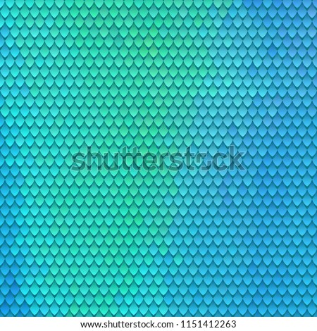 Scaly pattern. Scales of the fairy dragon. Rainbow blue violet red background Stock photo © ESSL