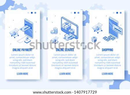 moderno · negócio · estatística · tela · eps - foto stock © decorwithme