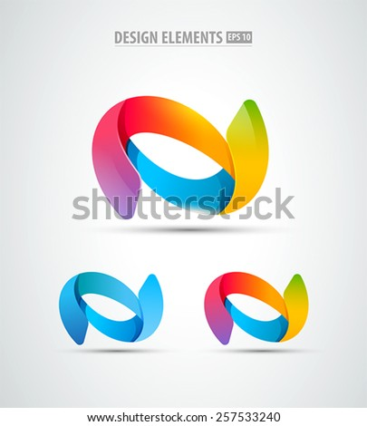 Remolino resumen logo símbolo icono global Foto stock © gothappy