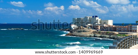 panoramisch · tropische · panorama · boom · natuur · zee - stockfoto © amok