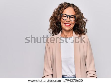 успешный деловая женщина положительный тенденция бизнеса Сток-фото © lichtmeister