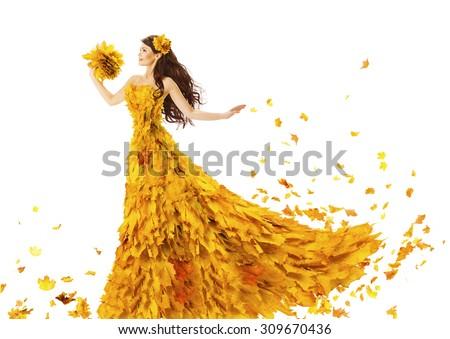 Bela mulher amarelo longo vestir buquê lavanda Foto stock © ElenaBatkova