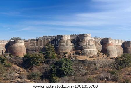 Fortezza colline quartiere occidentale India Foto d'archivio © cookelma