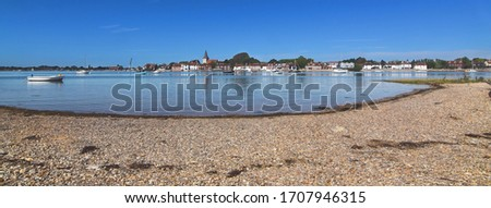 Bosham in early September with the tide in, West Sussex, England Stock photo © fenton