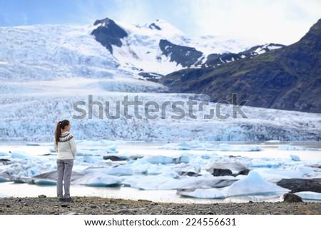 Islanda escursioni turistica escursionista giro turistico canyon Foto d'archivio © Maridav