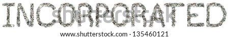 100 · palavra · fora · isolado · branco - foto stock © eldadcarin