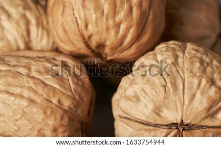 Cracking walnuts Stock photo © andreasberheide