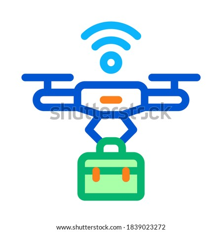 Robot with shield and wifi symbol on it. Internet security concept. Isolated. Contains clipping path Stock photo © Kirill_M