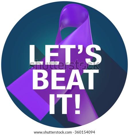 Purple Альцгеймера болезнь лента фонд Сток-фото © iqoncept