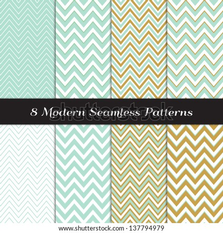 chevron pattern green neutral seamless pattern for modern desig stock photo © almagami
