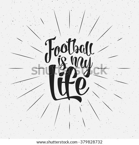 Welcome to France europe 2016 Football typography label, Soccer overlay. Championship, league Hand l Stock photo © JeksonGraphics