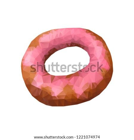 именинный торт знак икона треугольник торт сжигание Сток-фото © JeksonGraphics