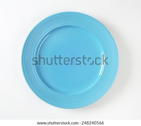 azul · cena · placa · blanco · concéntrico · círculos - foto stock © Digifoodstock