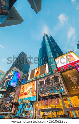 new york   december 22 2013 times square on december 22 in usa stock photo © elnur