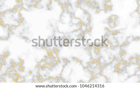 Vector marble texture, seamless pattern design with golden geome Stock photo © BlueLela