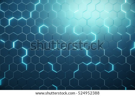 résumé · hexagone · couleur · surface · technologie · bruit - photo stock © anadmist