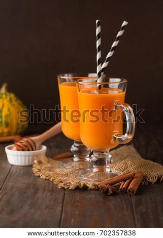 oranje · wortel · smoothie · vers · glas · drinken - stockfoto © melnyk