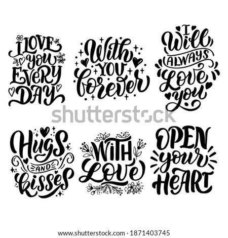 Motivation hand lettering inscription. Hand drawn elements. Modern design. Inspirational illustratio Stock photo © kollibri