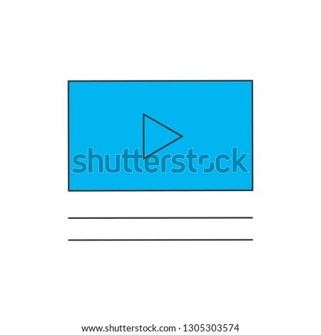 modern · videó · játékos · interfész · terv · háttér - stock fotó © kyryloff