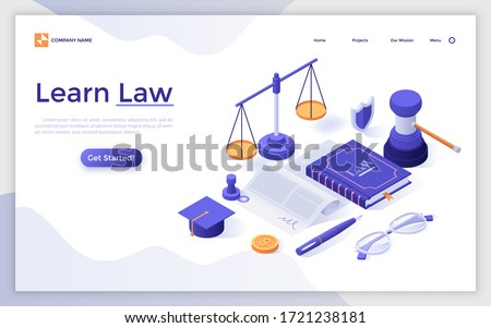graduation concept   modern colorful isometric vector illustration stock photo © decorwithme
