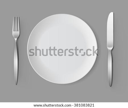 Kés vektor ezüst fém felső kilátás Stock fotó © pikepicture