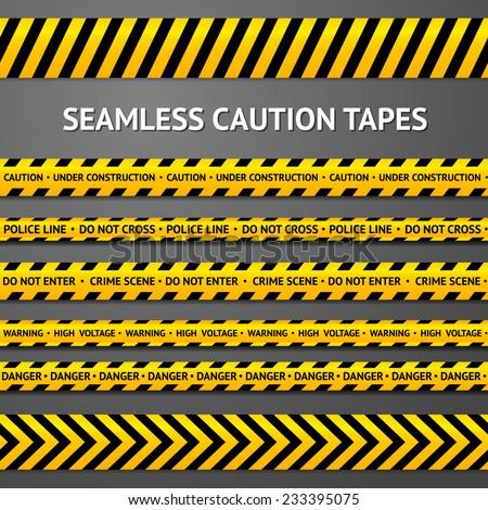 Szett végtelenített citromsárga fekete figyelmeztetés szöveg Stock fotó © kup1984